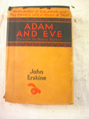 Adam and Eve by John Erskine 1927