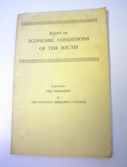 Report on Economic Conditions of the South