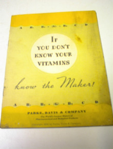 If you don't Know your Vitamins,1939