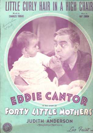 Eddie Cantor Fourty Little Mothers MGM 1940