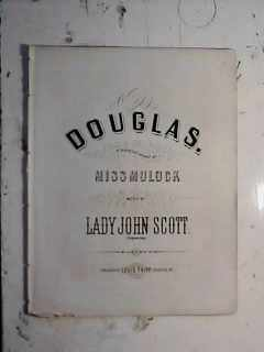 Douglas by Lady John Scott Louisville 1869