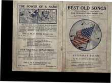Best Old Songs words & musice 1913