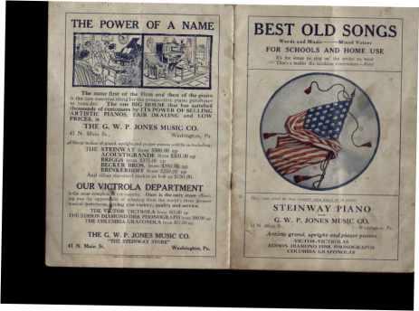 Best Old Songs words & musice 1913