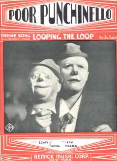 Poor Punchinello from Looping the Loop 1929