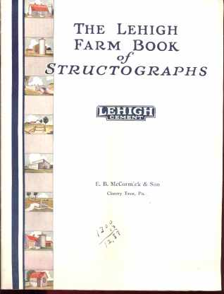 The Lehigh Farm Book of Structographs 1928