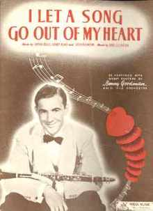 Benny Goodman I Let A Song go out of My Heart