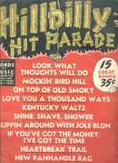 Hillbilly Hit Parade #3 1951CW Songs