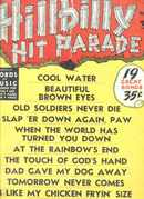 Hillbilly Hit Parade #4 1951CW Songs