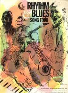 Rhythm Blues Song Folio 1963 Beautiful Cover