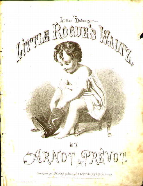 1865 Little Rogues Waltz Arnot Prevot Art cov