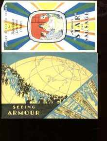 Armour Star Meats booklets 1930s great ads