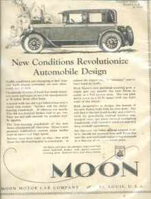 Moon Two Door Sedan 1925 Beautiful ad