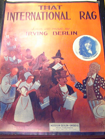 Irving Berlin That International Rag )1913