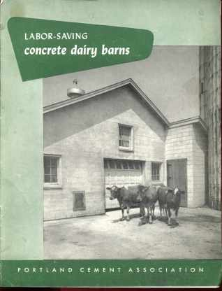 Dairy Barns Portland Cement Assoc 1953