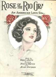Rosie of the Rio Grande 1922 Barbelle Cover
