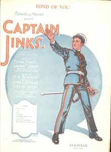 Found of You from musical Captain Jinks 1925