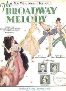 Broadway Melody-You Were Meant for Me 1929