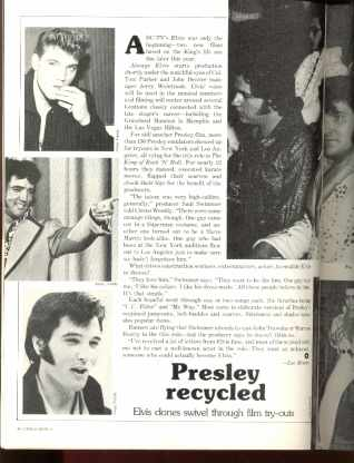 Circus Weekly 5/8/1979 Elvis Imitators HAIR