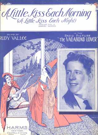 Rudy Vallee The Vagabond Lover A Little Kiss