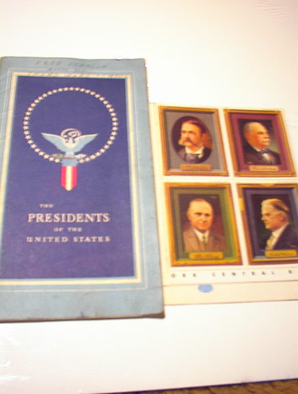 1946 PRESIDENT STAMP BOOK N.Y. CENTRAL SYSTEM