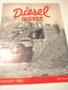 JANUARY 1939 ISSUE OF DIESEL DIGEST