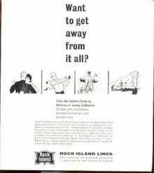 Rock Island Rockets Fall-Winter 1964-65 VG