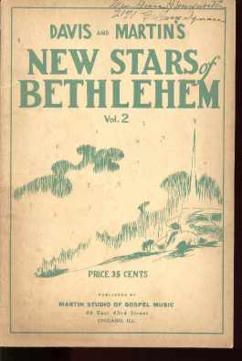 Davis & Martins New Stars of Bethlehem 1943