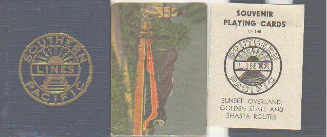 S.P. RR Sealed 1943 Beautiful Playing Cards