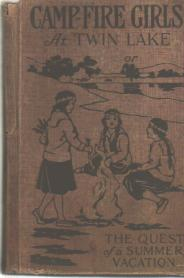 Camp-Fire Girls at Twin Lake 1918 HB