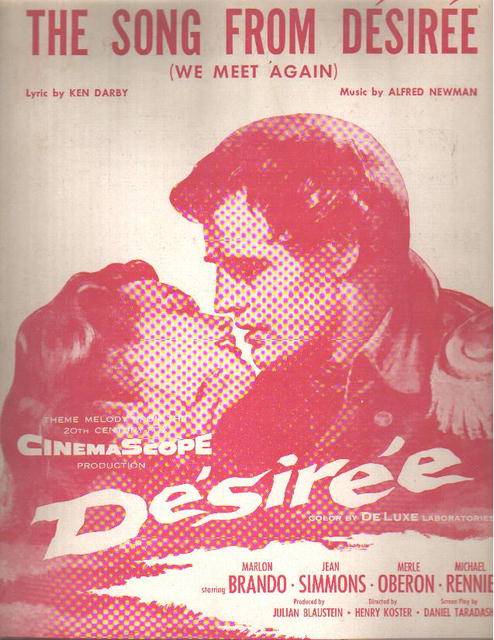 Marlon Brando The Song From Desiree 1954