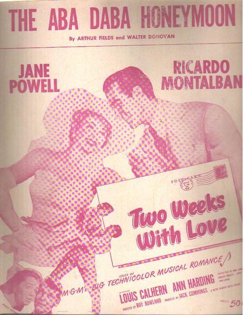 The Aba Daba Honeymoon Jane Powell 1942