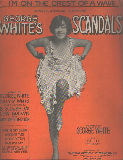 George Whites Scandals 1928 Crest of a Wave