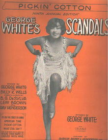 George Whites Scandals 1928 Pickin' Cotton