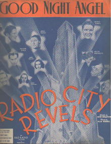 Good Night Angel 1937 from Radio City Revels
