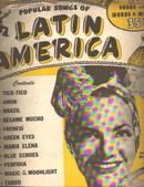 Latin America Songs 1945 w Carmen Miranda
