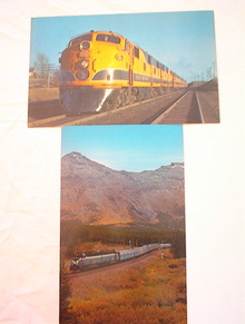 Ca1960's 2 NICE GREAT NORTHERN RAILWAY CARDS