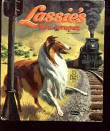 Lassies Brave Adventure 1958 great drawings