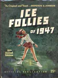 Shipstads & Johnson Ice Follies 1947 program