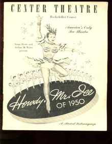 Howdy Mr Ice Rockefeller Center Program 1950