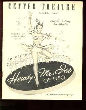 Howdy Mr Ice Rockefeller Center Program 1950