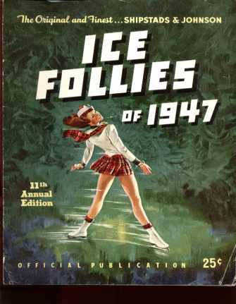 Ice Follies 1947 11th Edition Scottish Cover