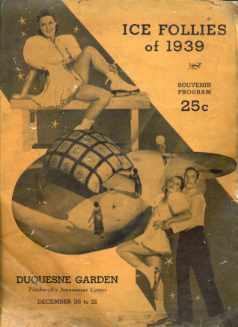 Ice Follies 1939 Program Evelyn Chandler more