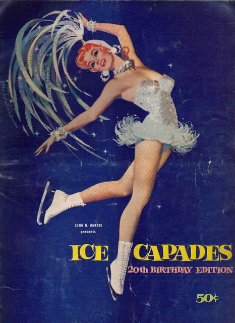 Ice Capades 20th Birthday Edition 1959 lovely