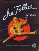 Ice Follies 1942 Beautiful Program Art Cover