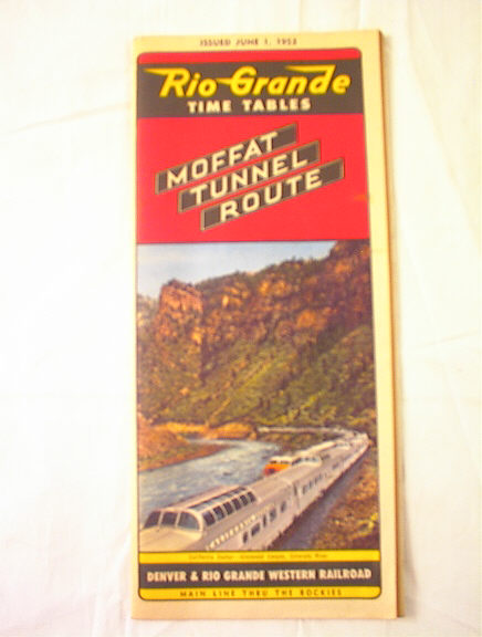 JUNE 1,1953 RIO GRANDE ROYAL GORGE ROUTE