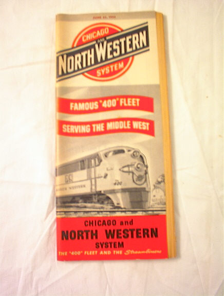 JUNE 27,1954 CHICAGO AND NORTH WESTERN SYSTEM