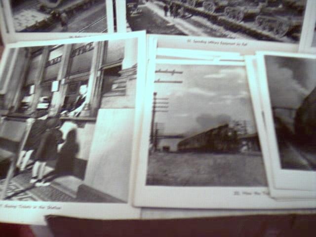 1942 Teachers RR set w 47 real photos 2 bklts
