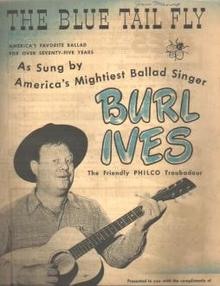 Burl Ives The Blue Tail Fly Philco 1944