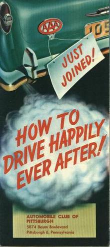 How to Drive Happily Ever After!, PGH AAA