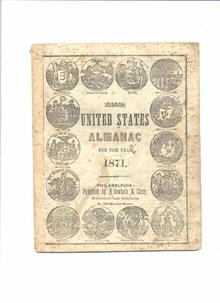 United States Almanac for 1871
